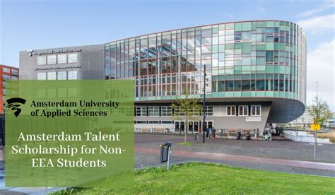Amsterdam Talent Scholarship (ATS) for Non-EEA Students in