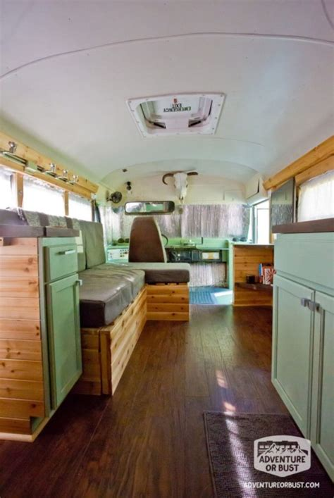 Couple's Adventure or Bust Converted School Bus