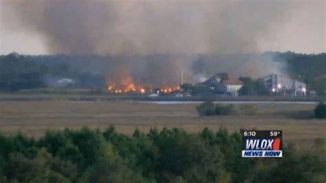 Massive fire covers 50+ acres on old Coca-Cola plantation