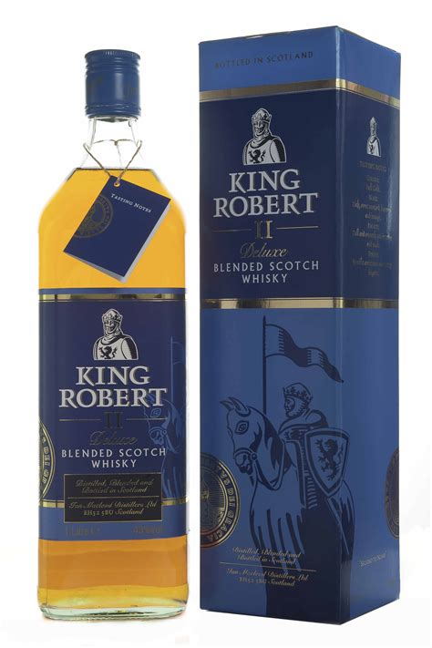King Robert II de Luxe 1 Ltr, 43%