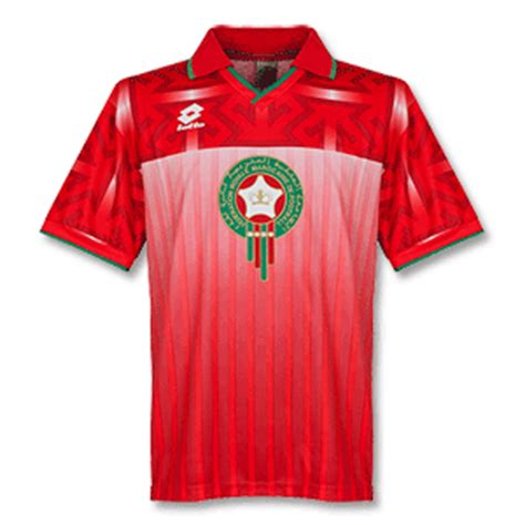 Morocco Football Shirts, Kit & T-shirts by Subside Sports
