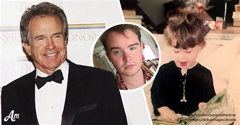 Warren Beatty's son is all grown up and is an activist for