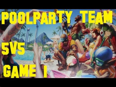 LoL: Poolparty - Team - 5v5 - Game 1 (german) - YouTube