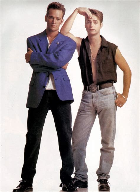 Luke Perry and Jason Priestley ~ Sensación de vivir