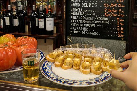 Free tapas bars in Madrid that not even knows your