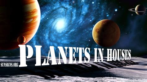 Planets In Houses   SunSigns