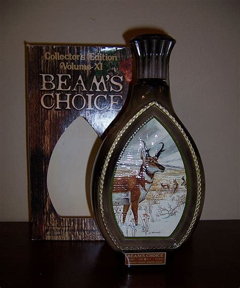 Jim Beam Collector's Edition Wildlife Decanter, Pronghorn