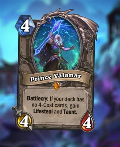 Prince Valanar has all of the effects—if you build your