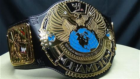 WWF/WWE BIG EAGLE/ATTITUDE ERA CHAMPIONSHIP TITLE REPLICA