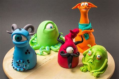 Monster Petit Fours Tutorial made by Crazy Sweets | Clay