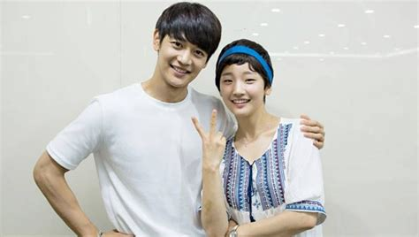 Minho and Park So Dam talk about their deep kiss scene in