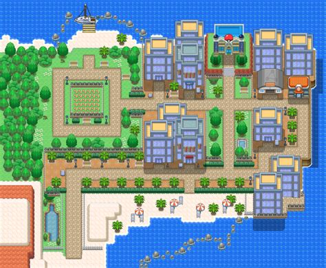 Bealbeach City | Pokémon Uranium Wiki | FANDOM powered by