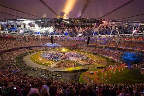 The London Olympic Games 2012 Opening Ceremony held at the