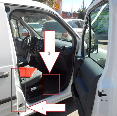 Ford Connect (2011-2014) - Where is VIN Number | Find