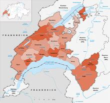 Subdivisions of the canton of Vaud - Wikipedia