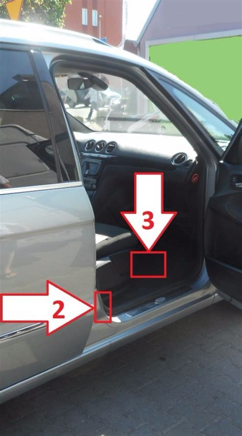 Ford Galaxy (2010-2015) - Where is VIN Number | Find