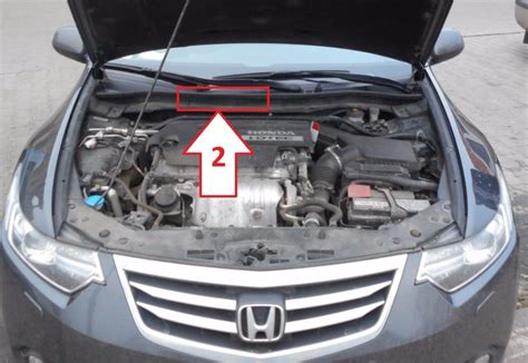 Honda Accord (2011-2015) - Where is VIN Number | Find
