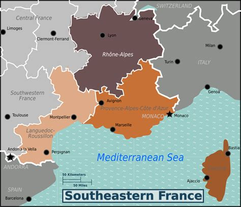 Southeastern France – Travel guide at Wikivoyage