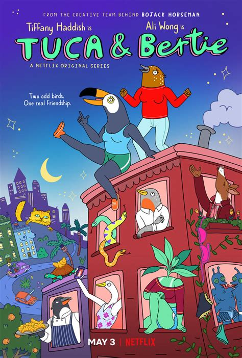 Netflix's animated comedy Tuca & Bertie gets a first trailer