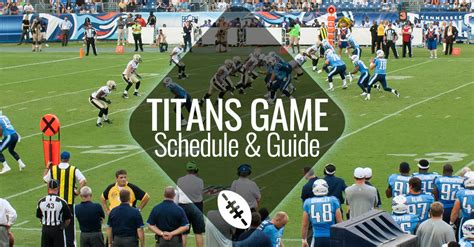 Titans Home Schedule and Game Day Guide | Nashville Guru