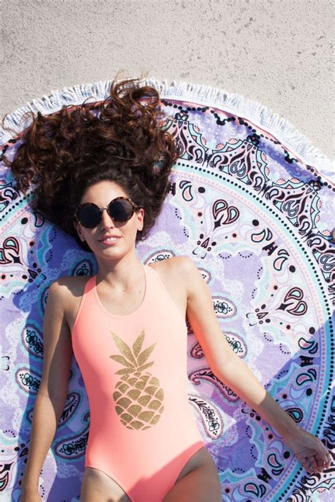 Pineapple | Cute camping outfits, Bathing suits for teens