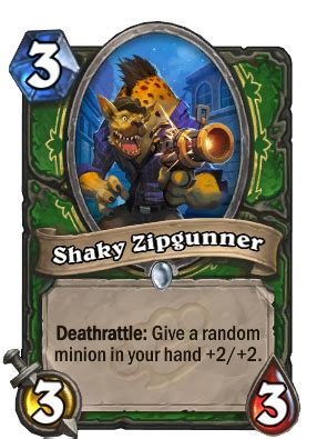 Shaky Zipgunner - Hunter Card - Hearthstone - Icy Veins