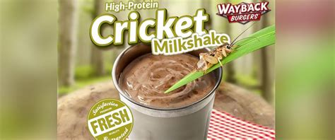 Wayback Burgers Chain Introduces Cricket-Laced Shake - ABC