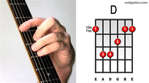 Learn How to Play D Major Bar Chord (For Songs by Steely