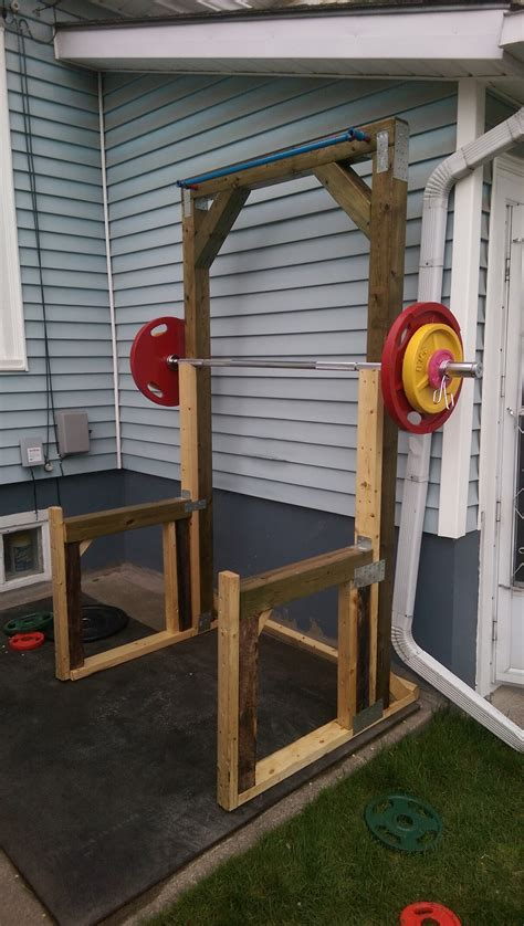 Decided I wanted to work out in my backyard, so I built a
