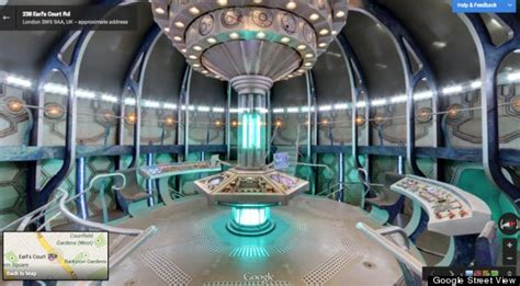 Google Opens The Door To The TARDIS From 'Doctor Who