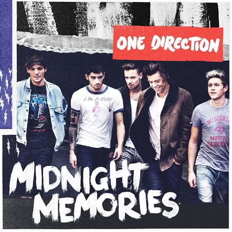 One Direction Unwraps 'Midnight Memories' Artwork and Full
