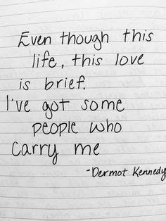 Dermot Kennedy | lyric love
