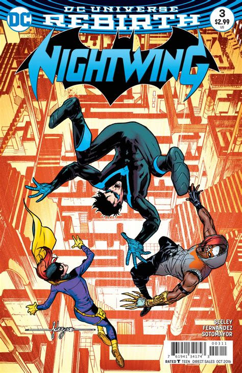 The Batman Universe – Review: Nightwing #3