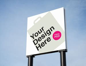 Outdoor Advertising PSD MockUps | GraphicBurger