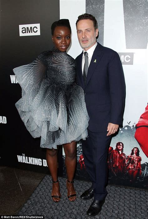 The Walking Dead's Andrew Lincoln and his 'leading lady