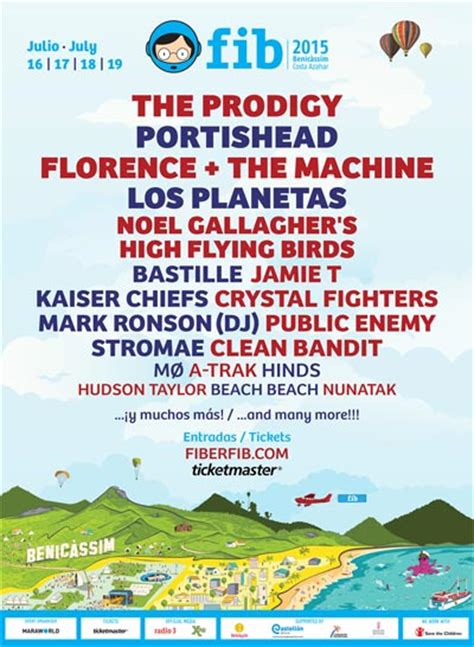 Benicassim Festival 2015 | Lineup | Tickets | Prices