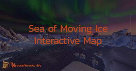 Neverwinter Sea Of Moving Ice Treasure Map - Maping Resources