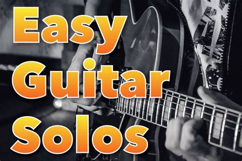 Easy Guitar Solos: How To Improvise On Guitar - Free Lesson