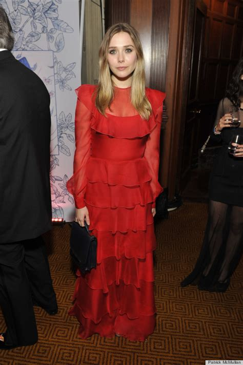 Elizabeth Olsen's Fluttery Valentino Gown: Yay Or Nay