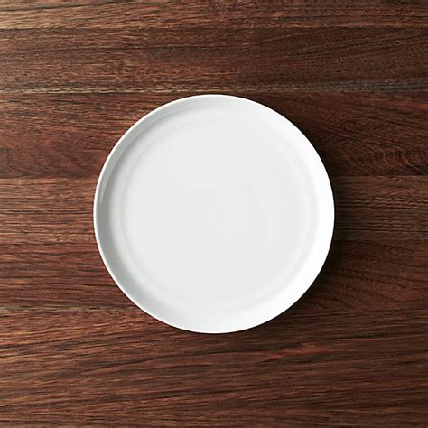Hue White Salad Plate | Crate and Barrel