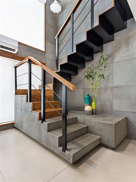 Best Industrial Staircase Design Ideas & Remodel Pictures