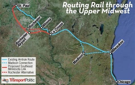 Southeast Minnesota Angles for Rail Link through Rochester