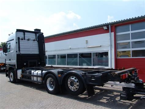 Actros 2546 L Megaspace BDF Ladebordwand