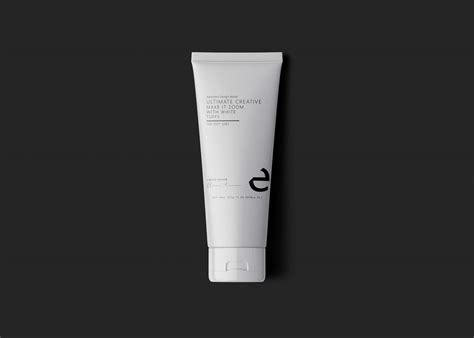 Cosmetic Tube Packaging PSD Mockup Download for Free