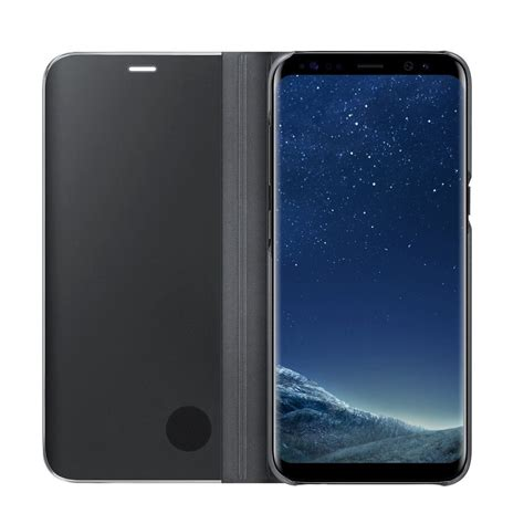 New Samsung Galaxy S9 S10 Plus Smart View Mirror Leather