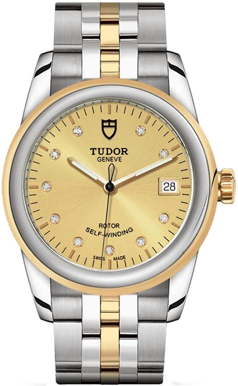 Buy this new Tudor Glamour Date 36mm m55003-0006 ladies