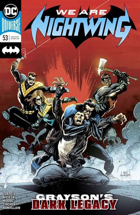 The Batman Universe – Review: Nightwing #53