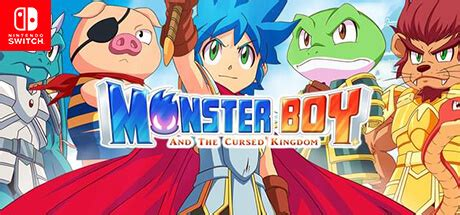 Monster Boy and the Cursed Kingdom Nintendo Switch Code