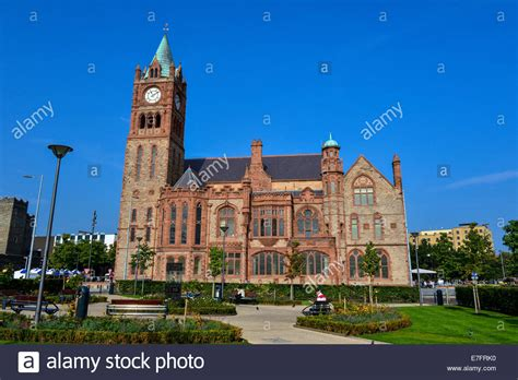 Guildhall Derry Stock Photos & Guildhall Derry Stock