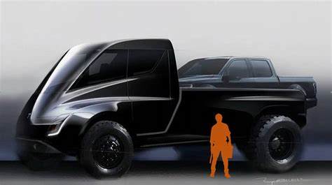 "Mike Levine on Twitter: ""Tesla pickup rendering makes zero"